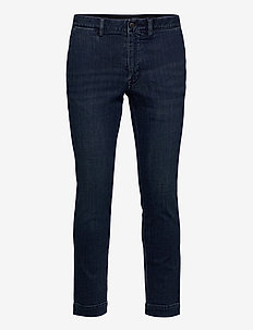 Stretch Slim Fit Chino-Style Jean - slim jeans - denim