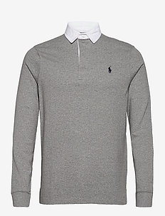 The Iconic Rugby Shirt - long-sleeved polos - league heather