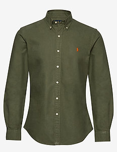 Slim Fit Oxford Shirt - jungle