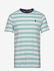 26/1'S JERSEY-SSL-TSH - short-sleeved t-shirts - bayside green/whi