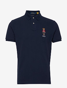 BASIC MESH-SSL-KNT - polos à manches courtes - cruise navy