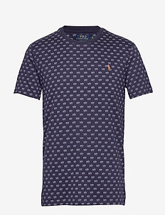 PIMA POLO-SSL-TSH - short-sleeved t-shirts - french navy polo
