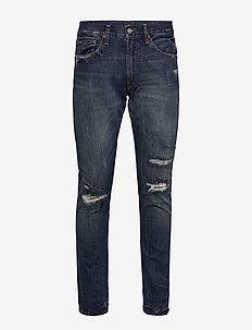 Sullivan Slim Distressed Jean - slim jeans - delmore repaired