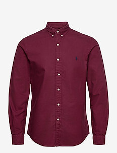 Slim Fit Oxford Shirt - casual skjortor - classic wine