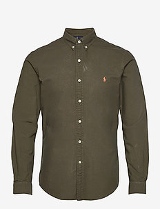 Slim Fit Oxford Shirt - casual shirts - defender green