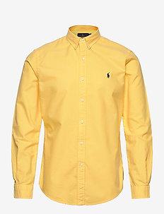 Slim Fit Oxford Shirt - basic-hemden - fall yellow
