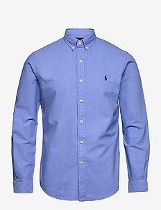 Slim Fit Oxford Shirt - basic skjortor - harbor island blu