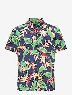 Custom Fit Floral Camp Shirt - chemises à manches courtes - 4822 paradise flo