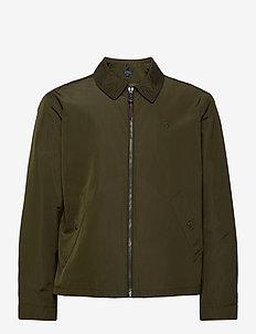 Water-Repellent Windbreaker - light jackets - company olive