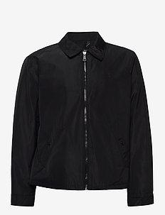 Water-Repellent Windbreaker - light jackets - polo black
