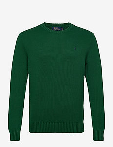 Cotton Crewneck Sweater - basic-strickmode - new forest