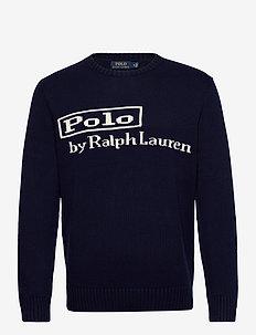 Original Logo Sweater - pyöreäaukkoiset - hunter navy