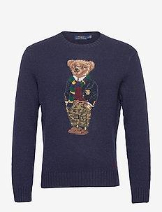 Preppy Bear Sweater - tops - preppy bear