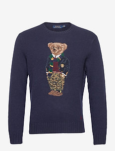 Preppy Bear Sweater - rund hals - preppy bear