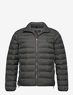 Packable Quilted Jacket - toppatakit - charcoal grey