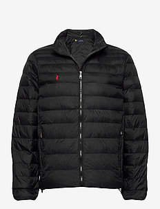 Packable Quilted Jacket - forede jakker - polo black