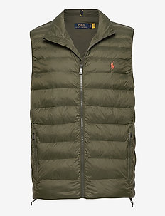 Packable Quilted Vest - westen - dark loden