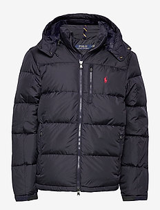 Water-Repellent Down Jacket - donsjassen - collection navy