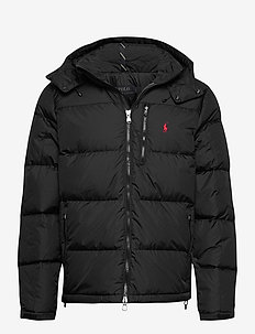 Water-Repellent Down Jacket - forede jakker - polo black