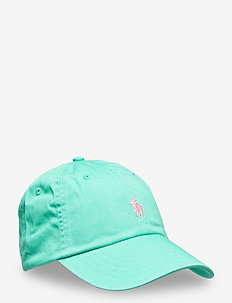 Camo Chino Ball Cap - kasketter - sunset green