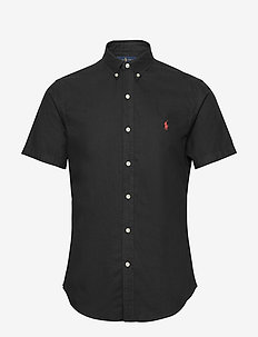 GD OXFORD-SLBDPPCSSS - basic overhemden - polo black