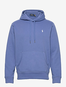 Cotton-Blend-Fleece Hoodie - hoodies - bastille blue/c17