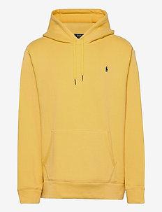 Cotton-Blend-Fleece Hoodie - basic-sweatshirts - fall yellow/c7315