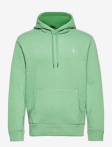 Cotton-Blend-Fleece Hoodie - basic-sweatshirts - pistachio/c3113