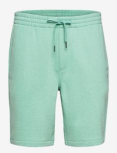 Cotton-Blend-Fleece Short - rennot - bayside green/c73