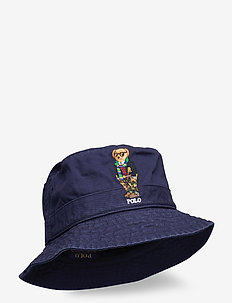 Polo Bear Chino Bucket Hat - bucket hats - newport navy
