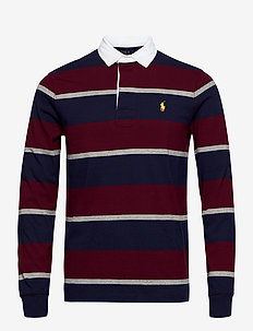 The Iconic Rugby Shirt - long-sleeved - classic wine mult