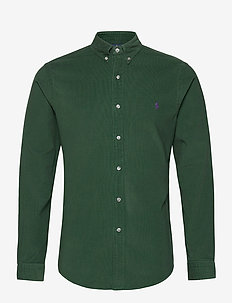 21 WALE CORDUROY-SLBDPPCS - casual shirts - college green