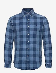 DOUBLE FACE-CUBDPPCS - chemises décontractées - 5034a blue/navy