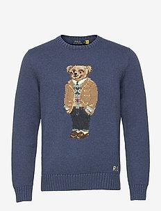 Polo Bear Sweater - rund hals - rustic navy heath