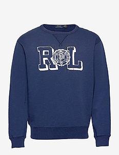Fleece Graphic Sweatshirt - tops - freshwater