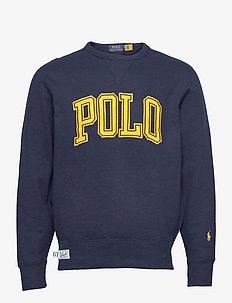 Logo Fleece Sweatshirt - tops - cruise navy