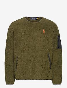 Fleece Utility Pullover - basic-sweatshirts - company olive
