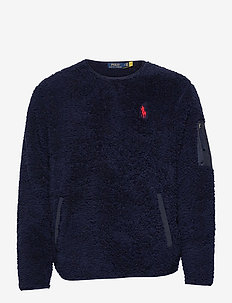 Fleece Utility Pullover - basic sweatshirts - cruise navy