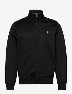 Lunar New Year Track Jacket - basic sweatshirts - polo black