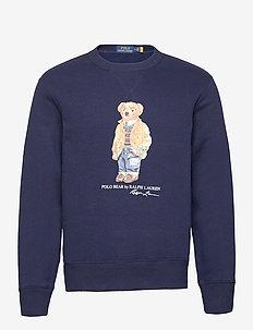 Polo Bear Fleece Sweatshirt - oberteile - cruise navy