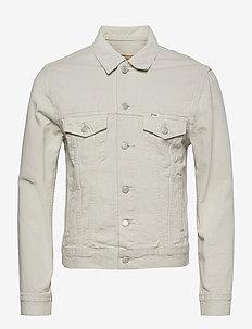 Garment-Dyed Denim Trucker Jacket - windjassen - adamson classic s