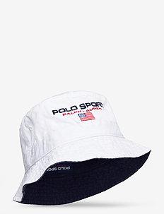 Polo Sport Chino Bucket Hat - bucket hats - white