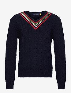 The 67 Cricket Sweater - basic strik - navy multi