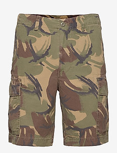9.5-Inch Relaxed Fit Ripstop Cargo Short - cargo shorts - british elmwood c