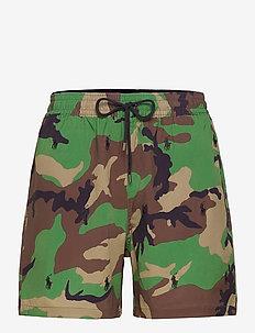 5.5-Inch Traveler Swim Trunk - swim shorts - surplus camo w/ a