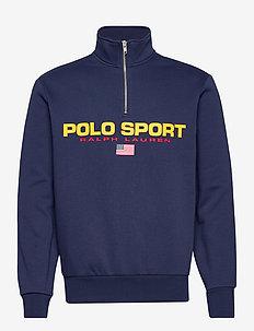 Polo Sport Fleece Sweatshirt - tops - cruise navy