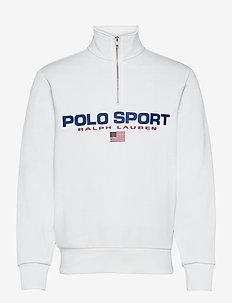 Polo Sport Fleece Sweatshirt - overdele - white