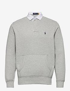 The Cabin Fleece Rugby - basic sweatshirts - andover heather