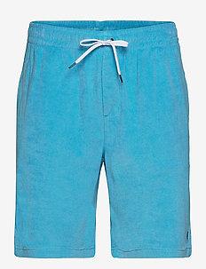 Terry Drawstring Short - casual shorts - lindsay blue