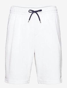 Terry Drawstring Short - casual shorts - white